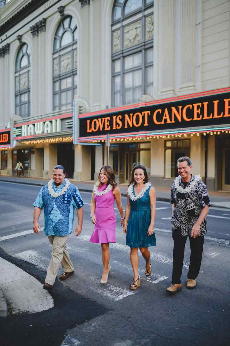 Love is Not Cancelled Hawaii Theatre Center